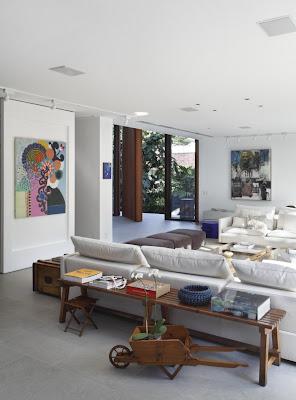 diseño salón moderno grande