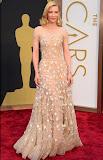 Кейт Бланшет в блестяща телесна рокля на Армани на Оскари 2014