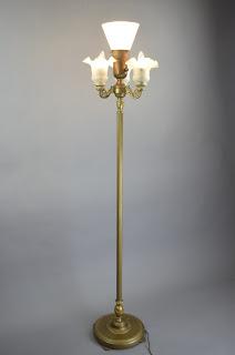 1920's Rembrandt Floor Lamp