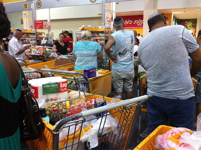 Supermercado em Israel -