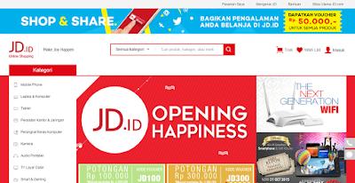 Datang ke Indonesia, JD goda konsumen dengan harga murah