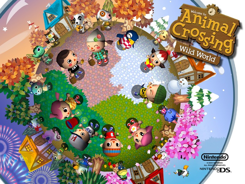animal crossing wild world