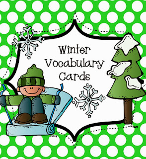 http://www.teacherspayteachers.com/Product/Winter-Vocabulary-Cards-for-Work-Stations-and-Writing-909197