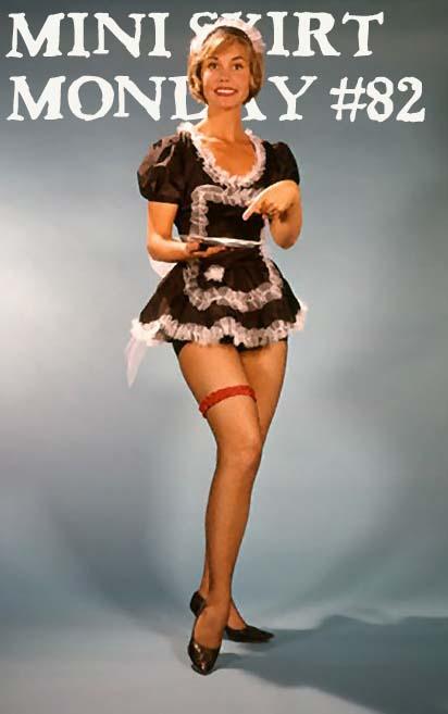 Retrospace Mini Skirt Monday 82 French Maids