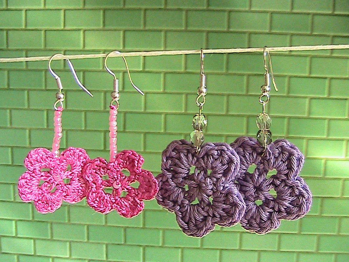 Idee tricot orecchini all 39 uncinetto for Idee uncinetto