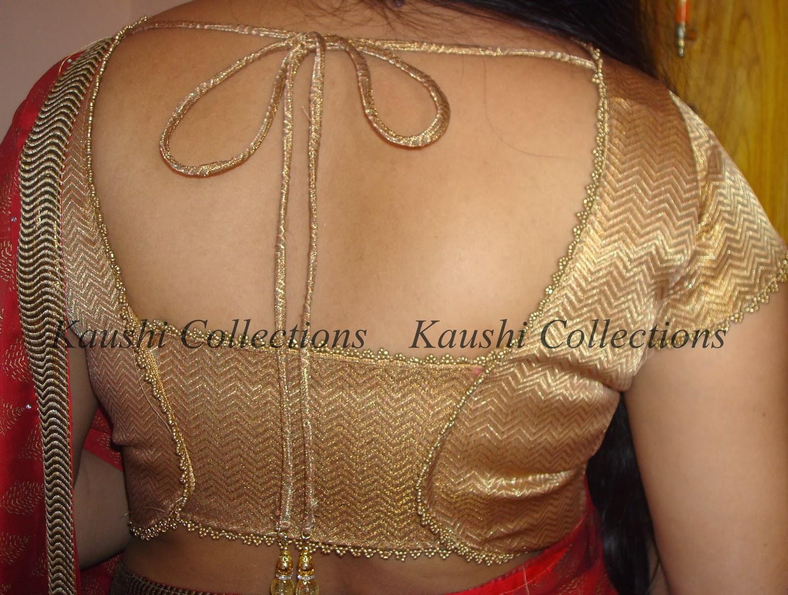 Gold Designer Blouse 51