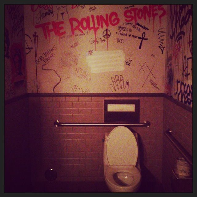 Graffiti Bathroom