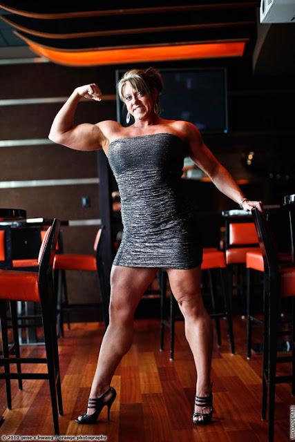 Crystal Exline Female Muscle Bodybuilder