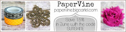 PaperVine - Save 15% in June!