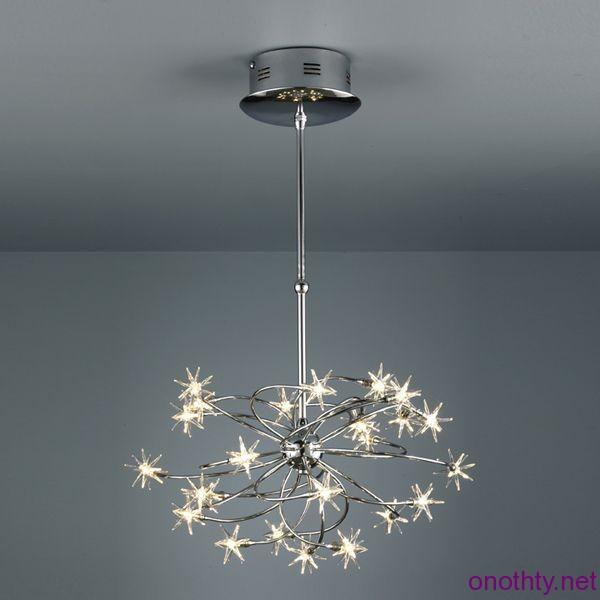 Living Room Design Ideas Modern Chandelier