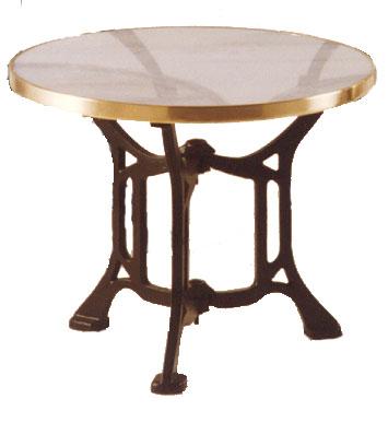 Mesas y sillas retro mobiliario vintage de estilo - Pies de mesa de marmol ...