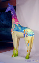 SOLD! Ingrid's giraffe 'Nextra-terrestrial' to be auctioned for charity on 19th September!