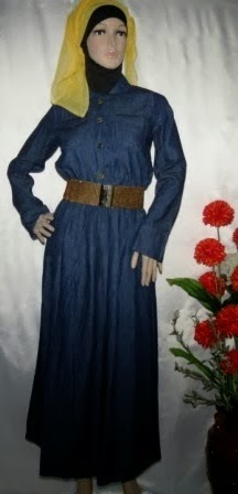 Gamis Jeans Fashion Classic