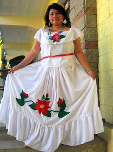 TRAJE CEREMONIAL XINKA, SANTA CATARINA MITA JUTIAPA