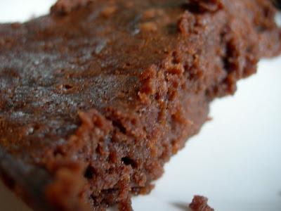 Le brunch chez Casimir. Gâteau au chocolat