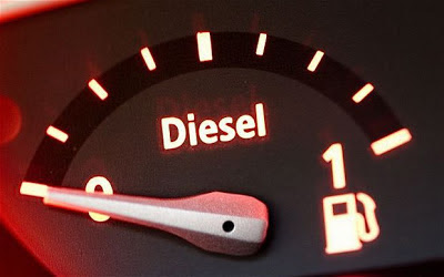 mobil diesel tersendat