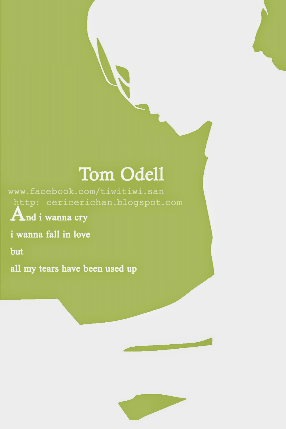 TOM ODELL, WALLPAPER, PAINT TOOL SAI, SILUET