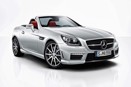 2014 Mercedes-Benz SLK55 AMG Review