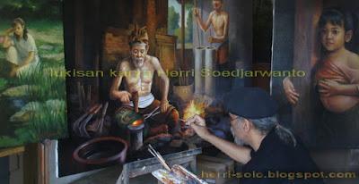 Lukisan Pande Besi .. Gagasan dan Makna