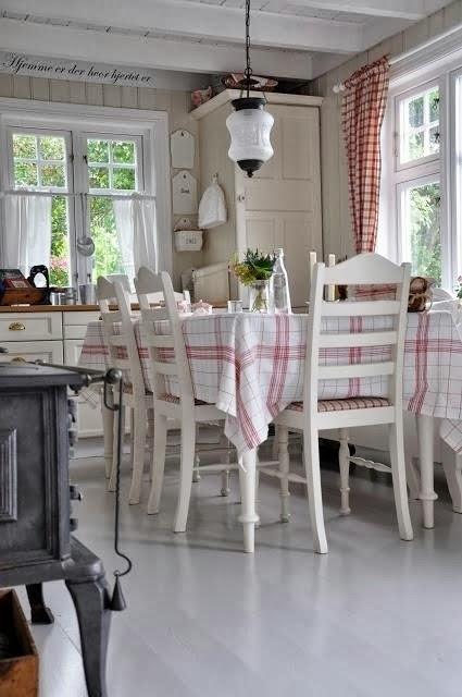 Cottage Style Keukens : moois en liefs Gezellige keukens