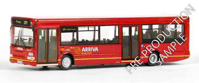 EFE PRE-PRO SAMPLE 36609 - SLF Dart 2 Door MkII - Arriva South London Registration number X475 GGO, fleet number PDL 25. Works route 289 to Purley.  Scheduled for a July Release. RRP £34.50