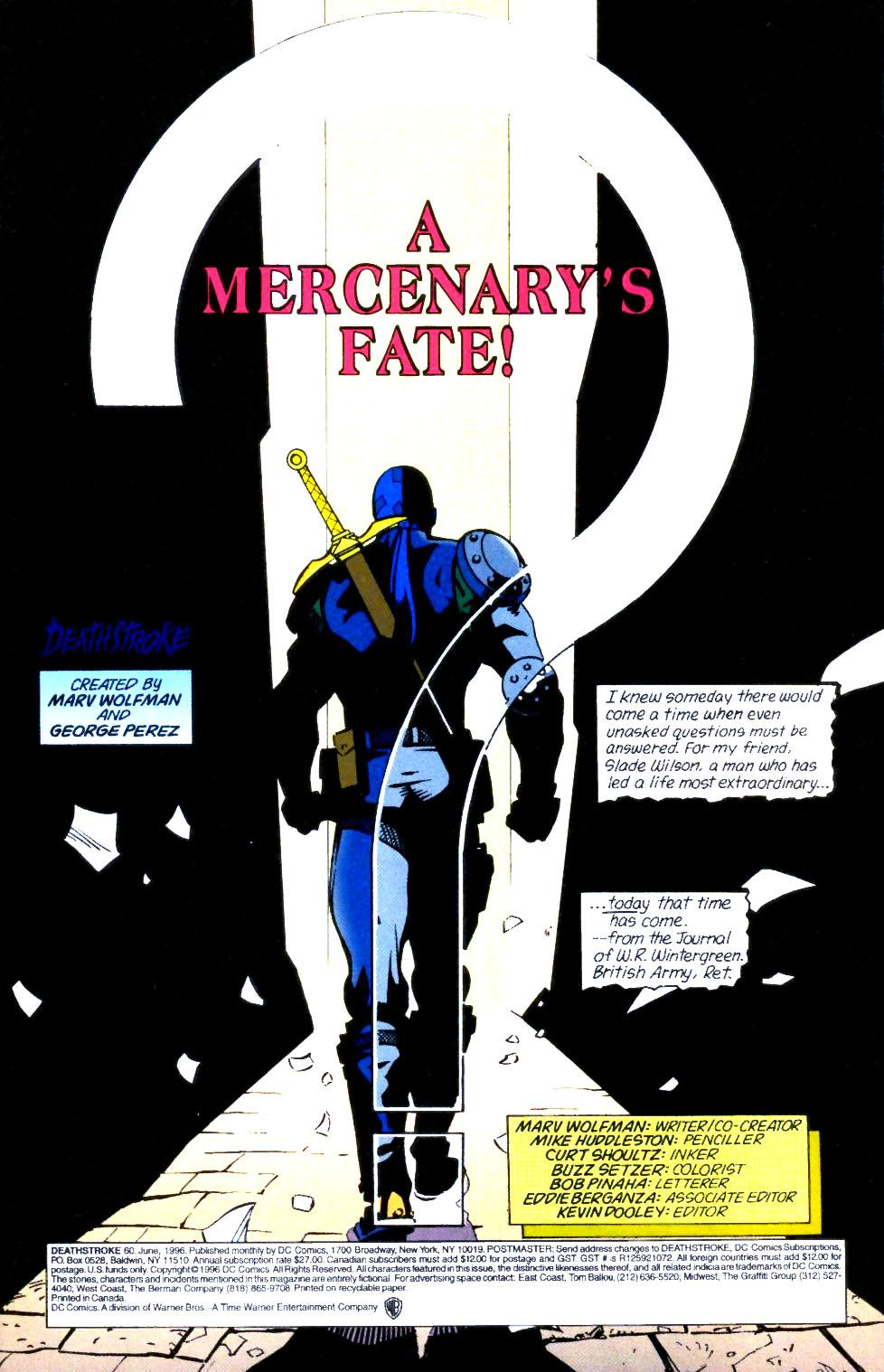 Deathstroke (1991) Issue #60 #65 - English 2