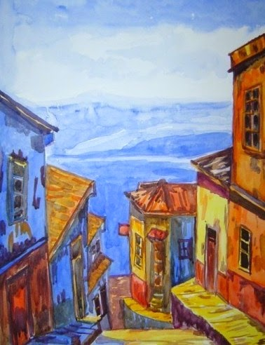 Valparaiso (acuarela)