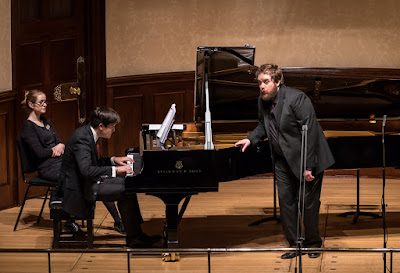 James Baillieu and Allan Clayton at the Wigmore Hall, photo Clive Barda