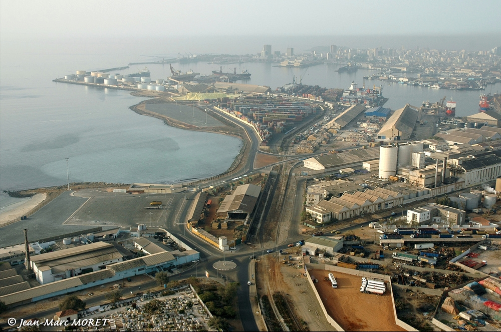 Dakar Senegal  city pictures gallery : transpress nz: the port of Dakar, Senegal