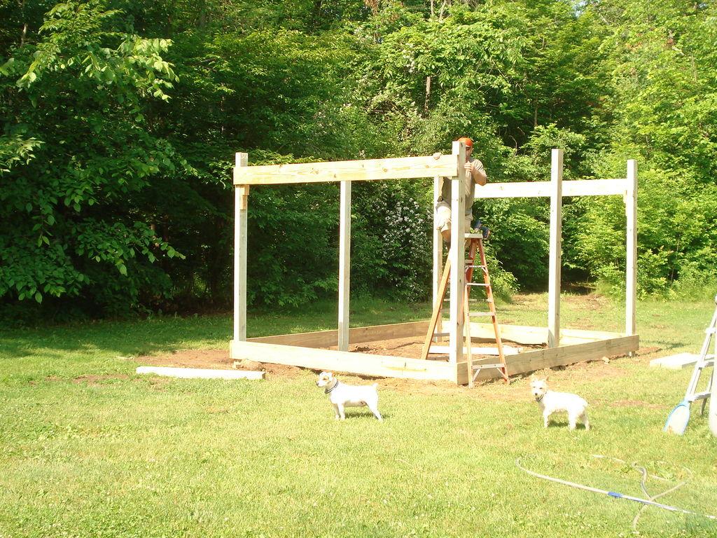 comment construire une cabane 12x20 pas cher j. Black Bedroom Furniture Sets. Home Design Ideas