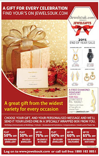Great offers on Jewelry and diamonds | Gold, silver and diamond offers - 2015