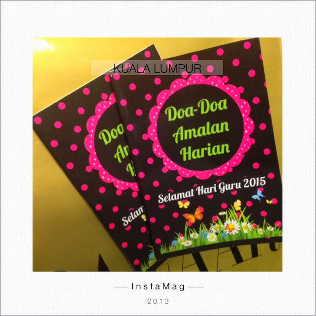 buku doa custom made murah