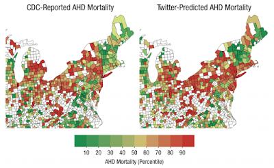 Actualidad Informática. Las quejas en Twitter predicen la mortalidad por enfermedad cardíaca . Rafael Barzanallana