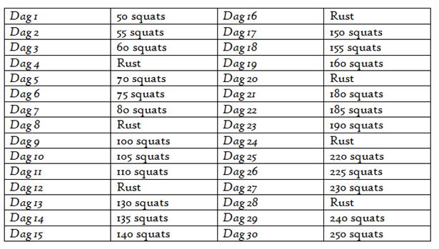 30 days challenge buik