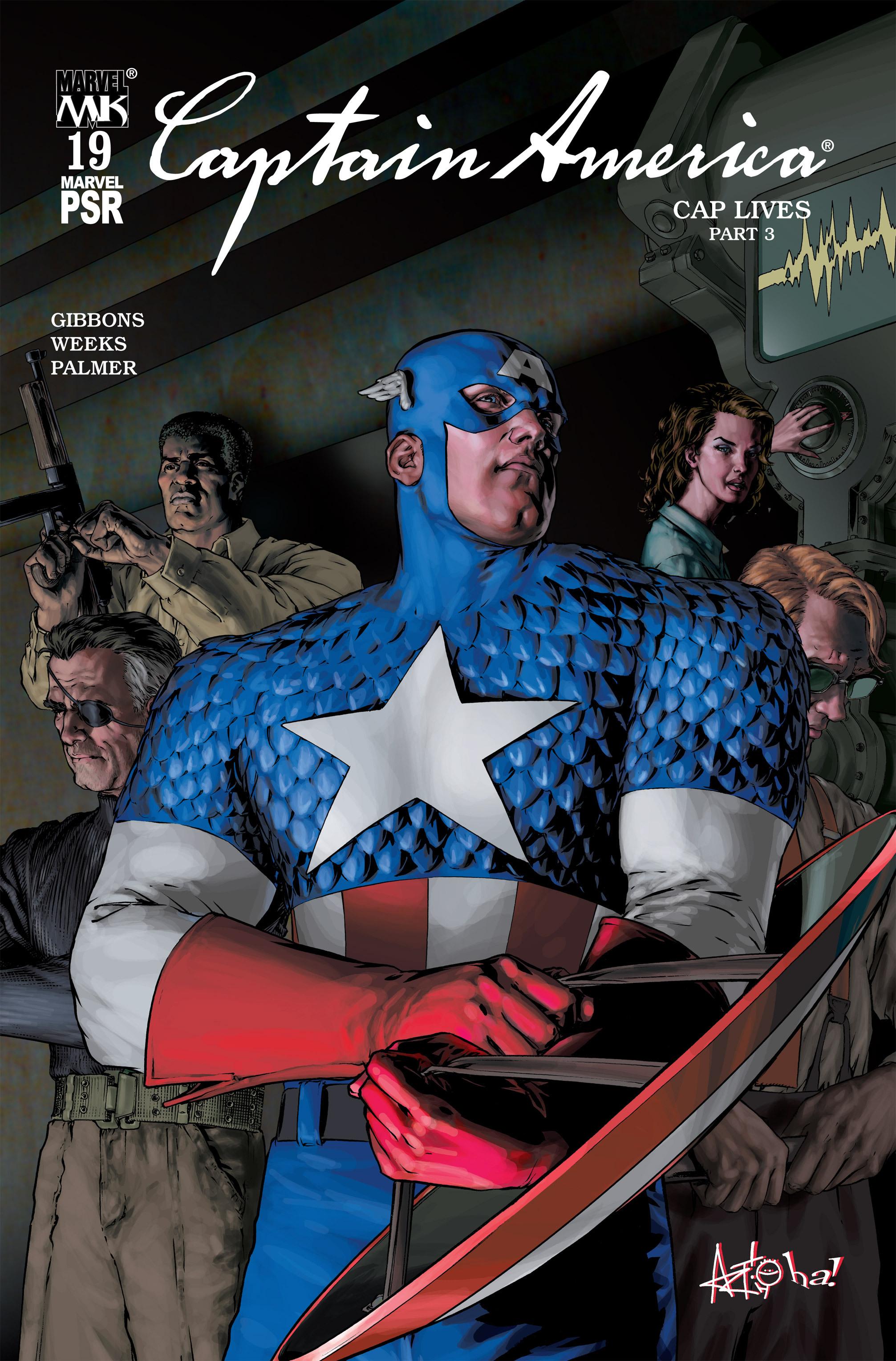 Captain America (2002) Issue #19 #20 - English 1
