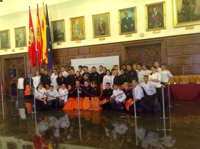 Gastronom a en zaragoza celebraci n aniversario de la - Escuela de cocina zaragoza ...
