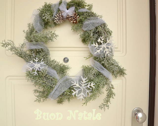 christmas wreath http://shabbychiclife-silvia.blogspot.it