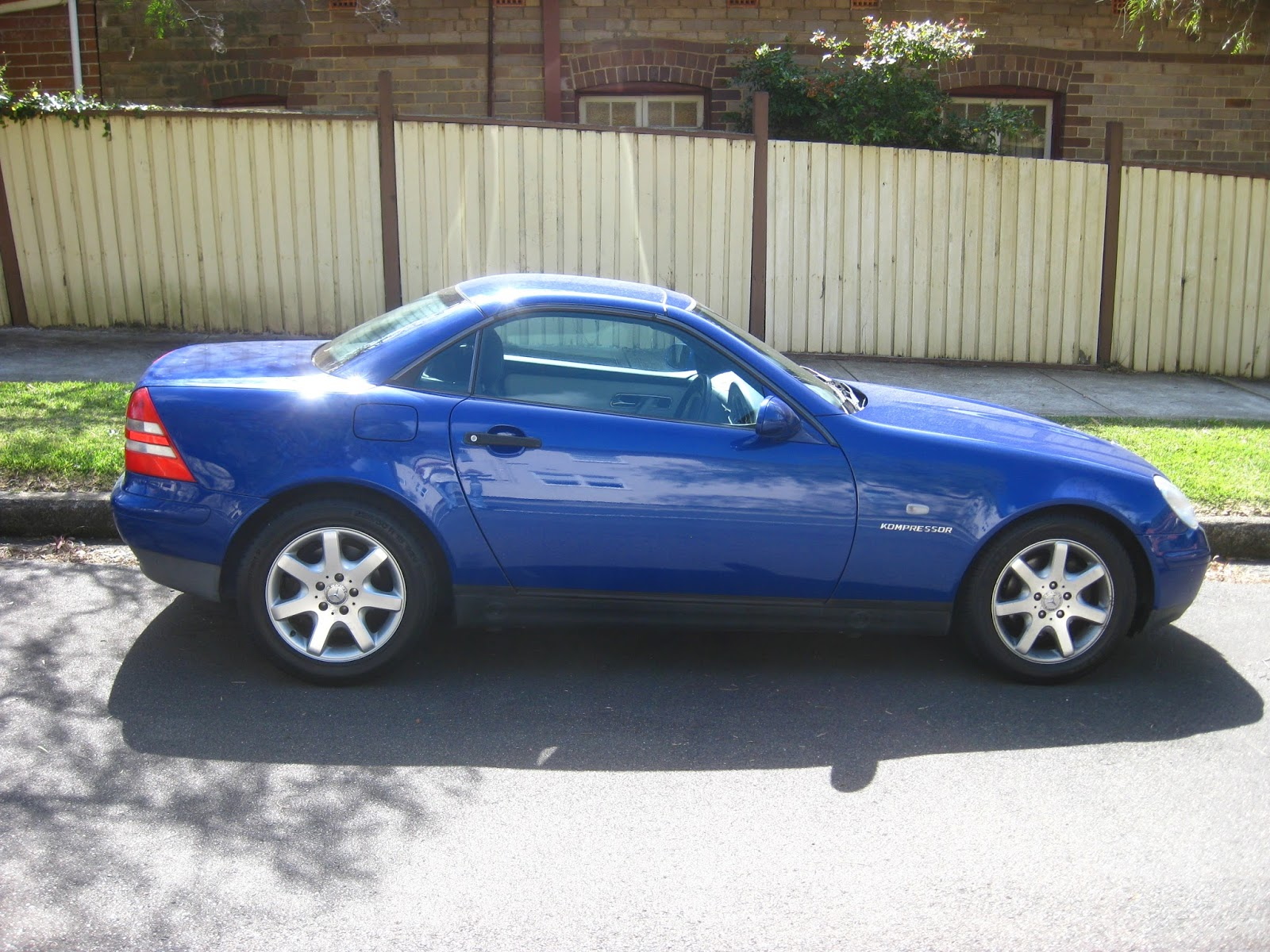 Aussie old parked cars 1997 mercedes benz r170 slk 230 for Mercedes benz slk230 kompressor