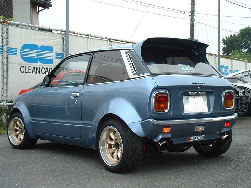 Mazda Chantez, mały samochód, kei car, jdm, fotki