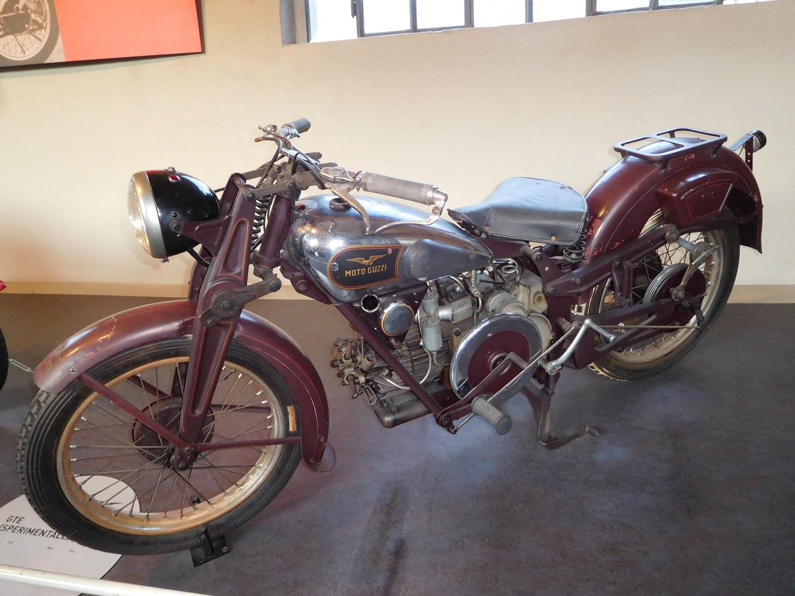 NYDucati: 1944 Moto Guzzi GTE