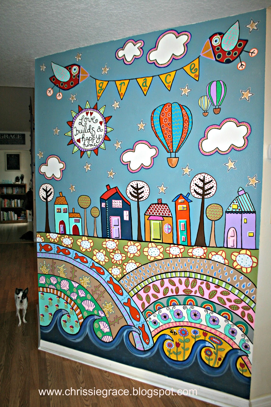 Creatively content scarp fabric curtain giveaway winner for Aithihya mural painting fabrics