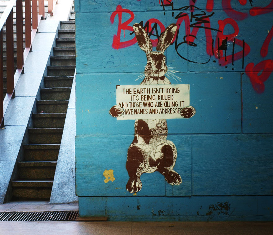These 30+ Street Art Images Testify Uncomfortable Truths - It's Not A Mystery.