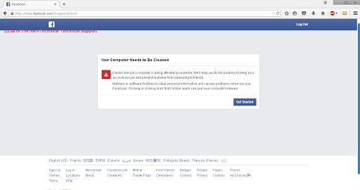 Facebook login checkpoint problem