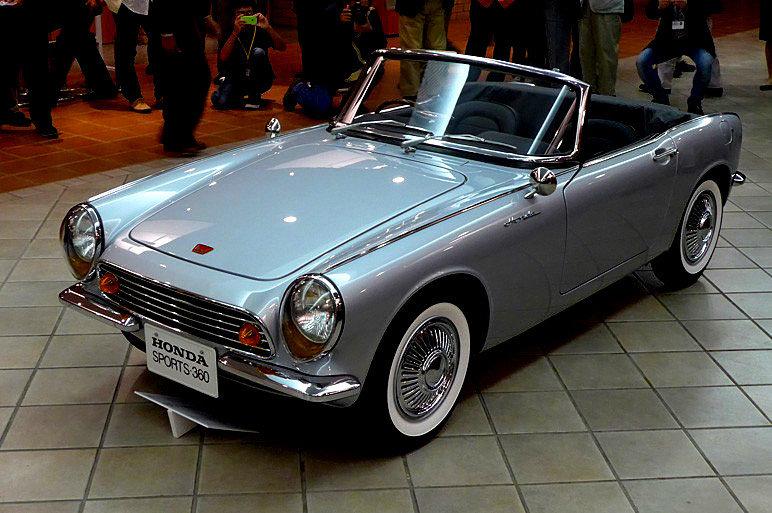Honda Sports 360, prototyp, koncept, JDM, japoński, roadster, napęd na tył, klasyk, stary, nostalgic, dawny, samochód, auto