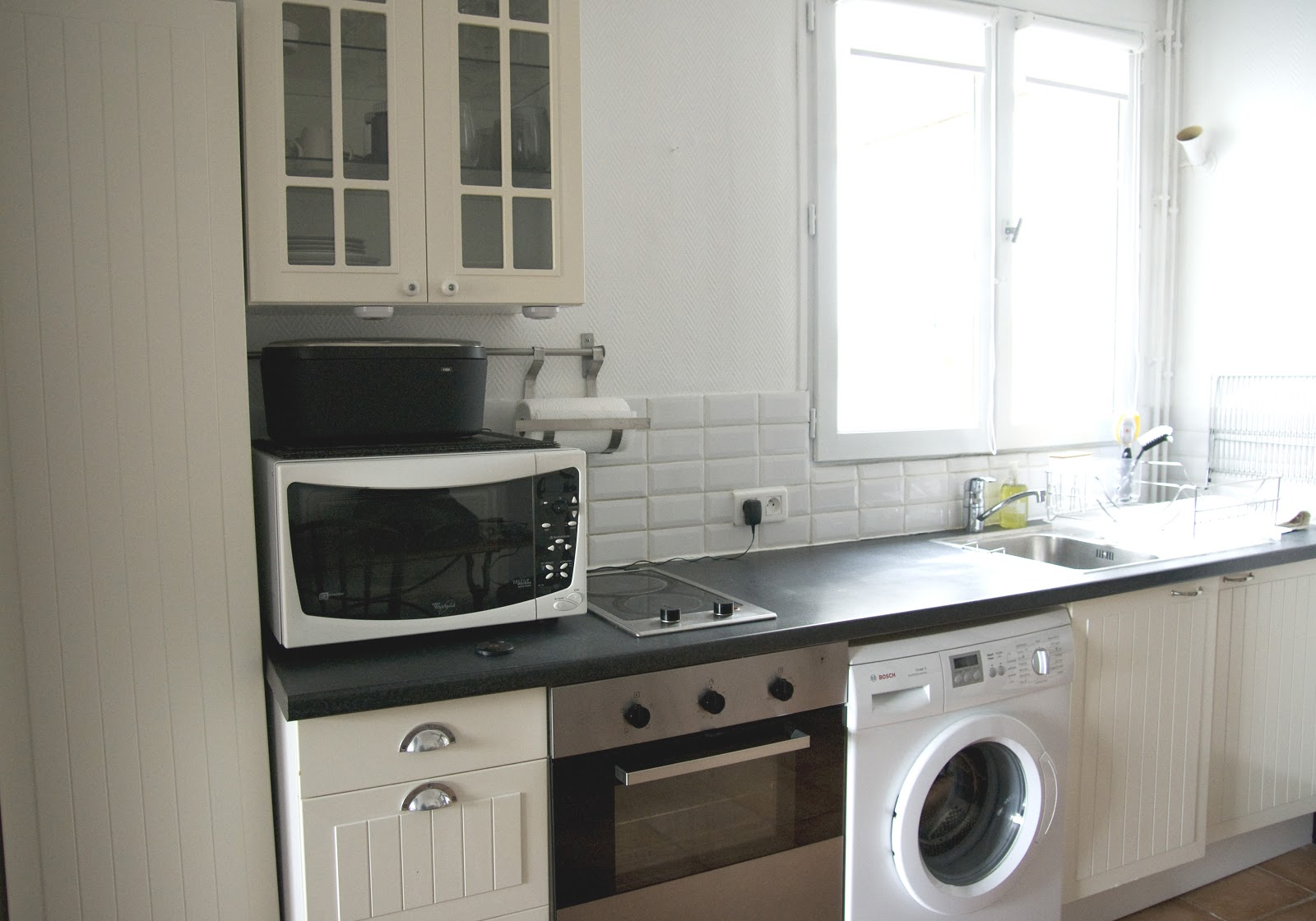 Paris concierge for Kitchen cabinet washing machine