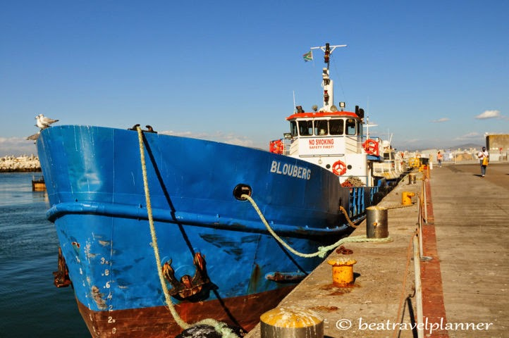 Robben island -barca prigionieri