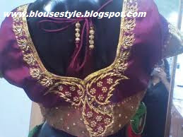 BEADS WORK BLOUSE