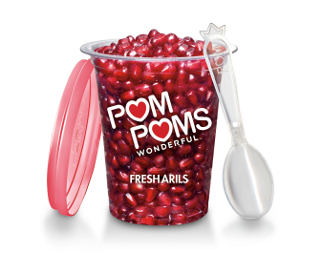 ... POMs Fresh Arils Giveaway...Featuring Winter Pomegranate-Avocado Salsa