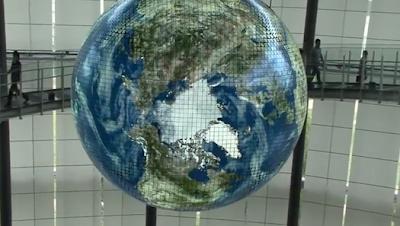 Geo-Cosmos giant globe