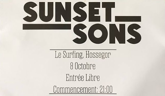 concierto sunset sons